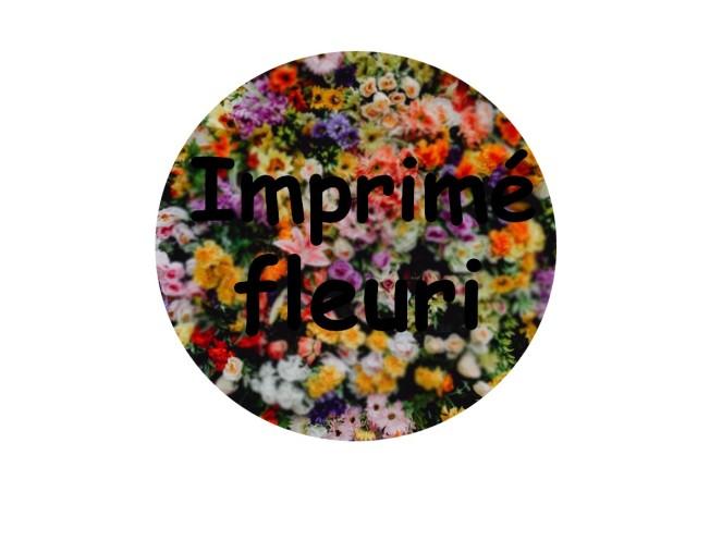 Imprimé fleuri