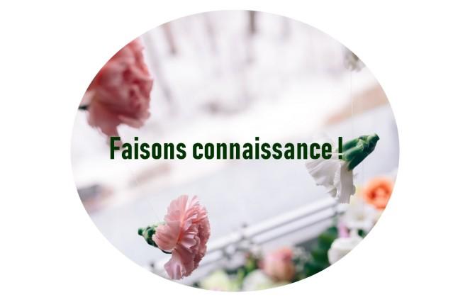 FAISONS CONNAISSANCE
