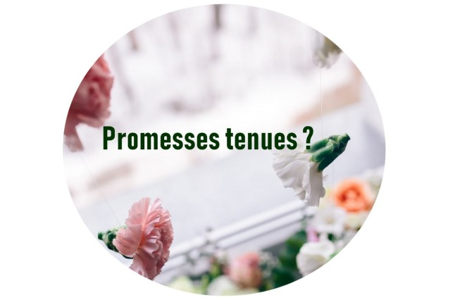 PROMESSES TENUES