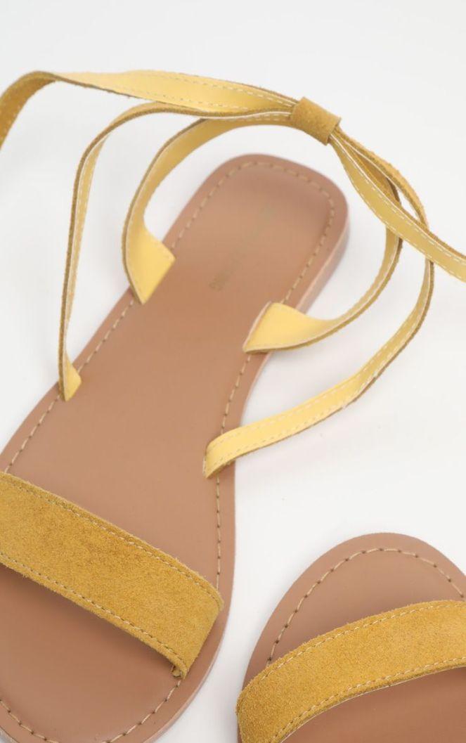 sandales plates seules